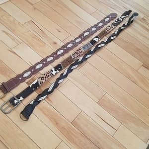 Wide Fashion Belt Bundle ▪